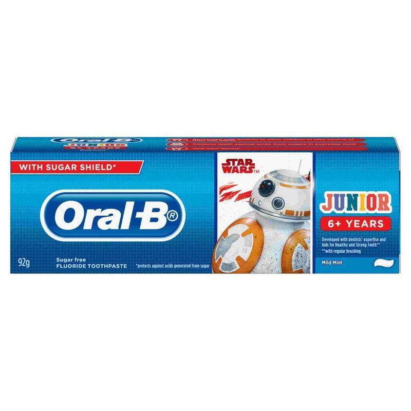 Oral-B Starwars Junior 6+ Years Toothpaste 92g