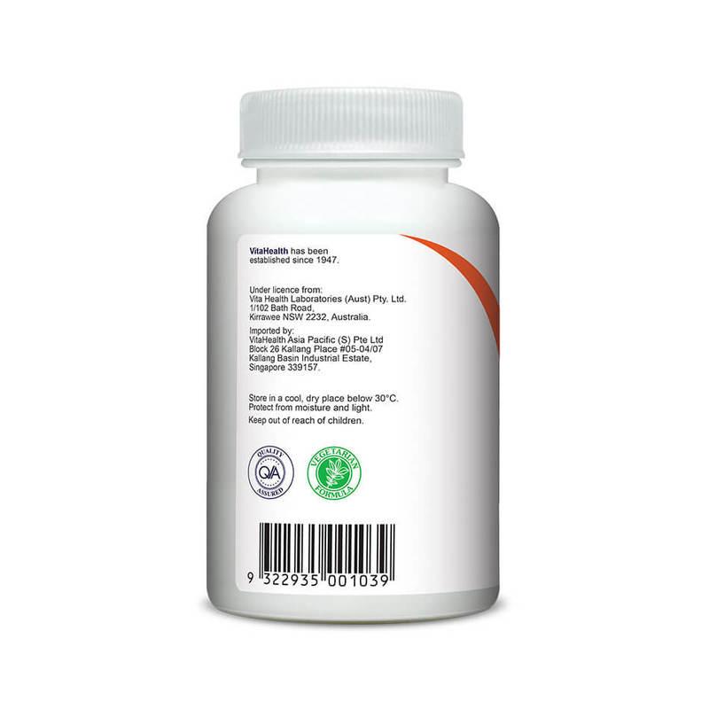 VitaHealth Buffered Orange C 500 30 Chewable Tablets