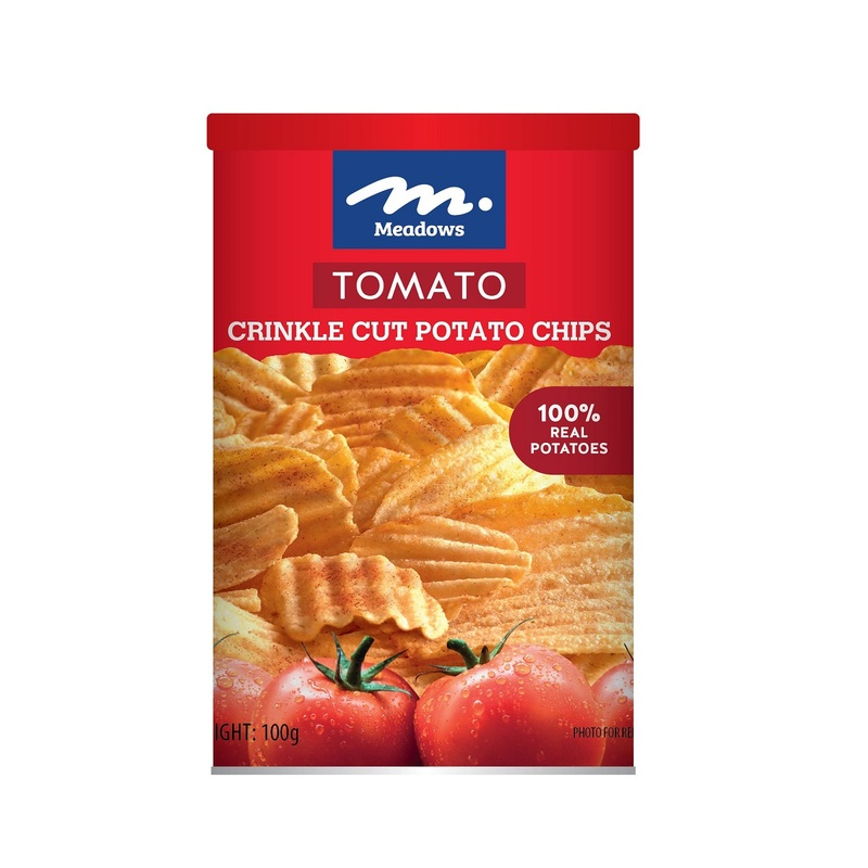 Meadows Potato Chips (Tomato) 100g