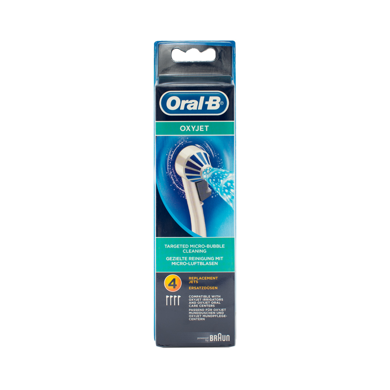 Oral B-Braun Ed17-4 Brush Head (Oxyjet) 4pc