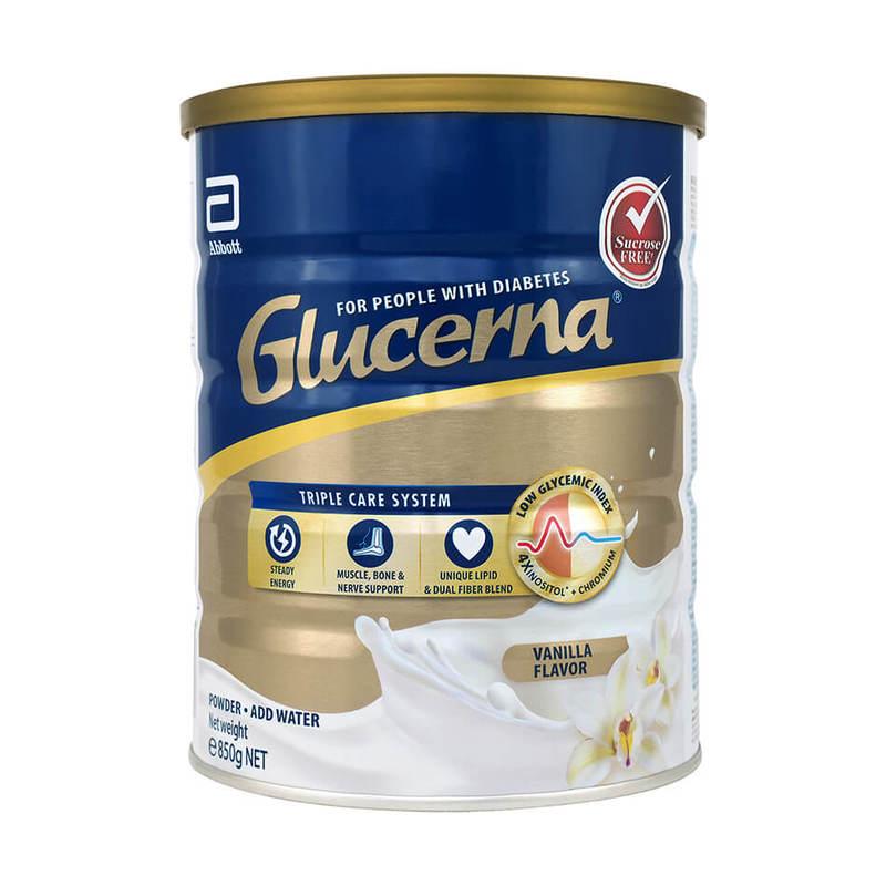 Glucerna Triplecare Vanilla, 850g