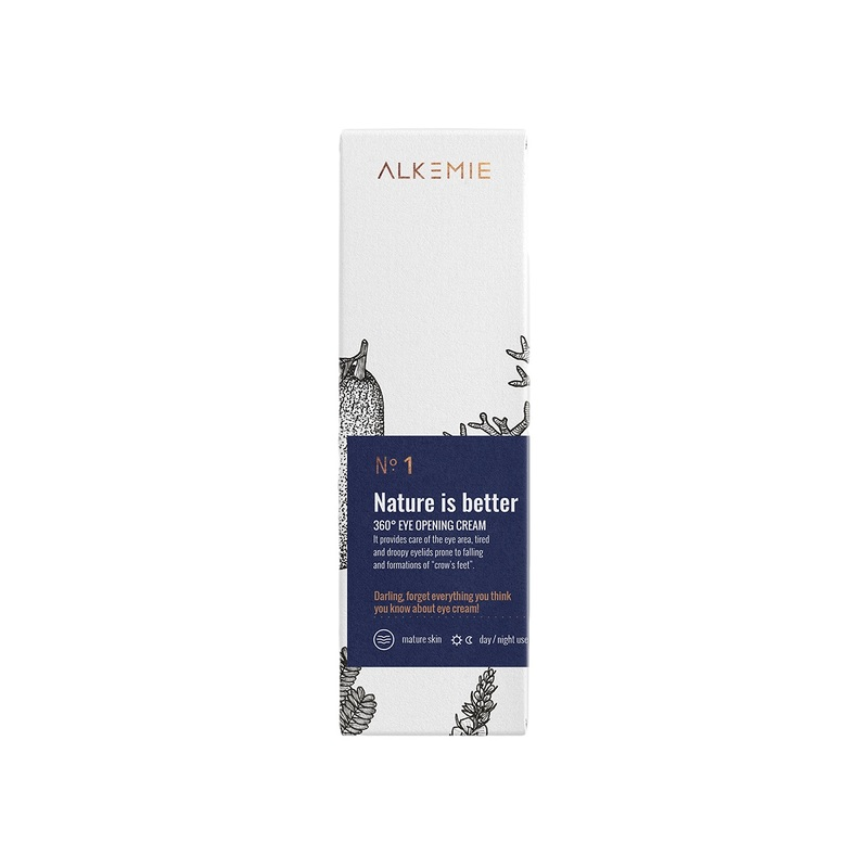 Alkemie Nature Is Better 360° Eye Opening Cream 15ml
