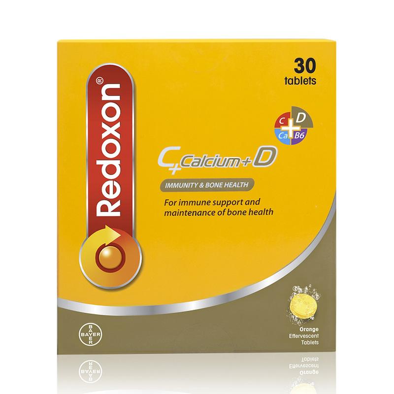 Redoxon C + Calcium + D Effervescent Orange, 30 tablets