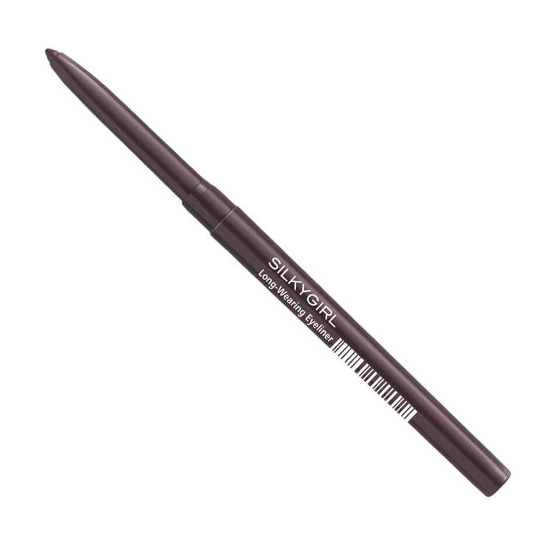 SilkyGirl  Long-Wearing Eyeliner - 02 Black Brown 0.28g