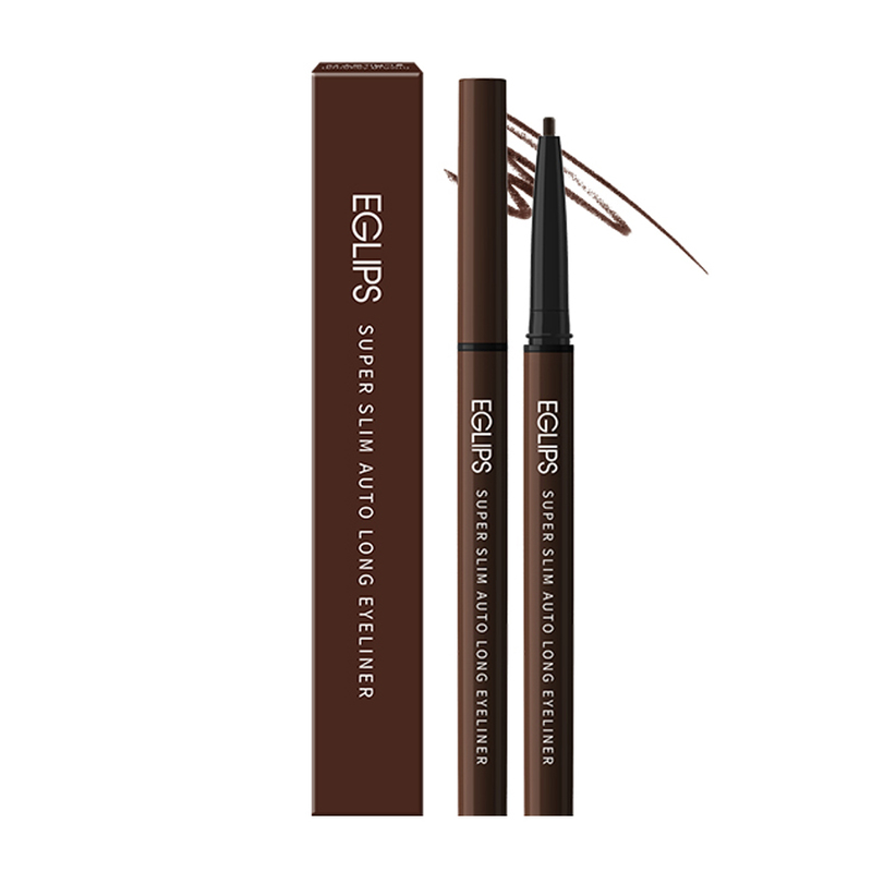 Eglips Super Slim Auto Long Eyeliner S2 Smokey Brown