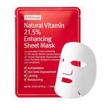 By Wishtrend Natural Vitamin 21.5 Enhancing Sheet Mask, 23g