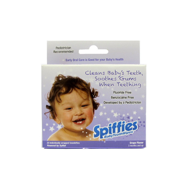 Baby Toothwipes Grape Flavour