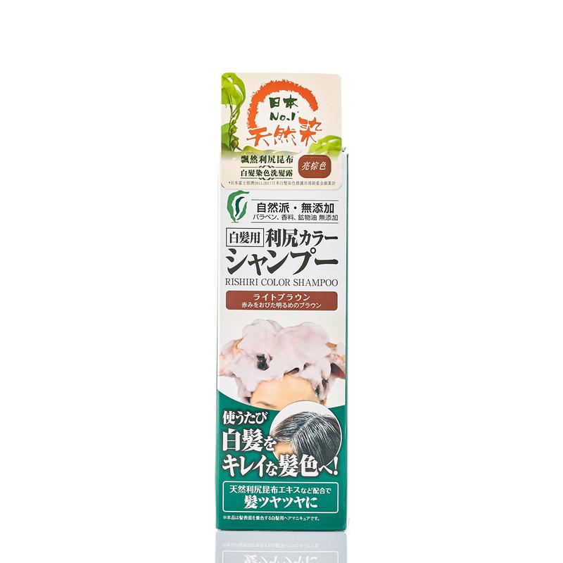 Pyuru Rishiri Color Shampoo Light Brown 200g