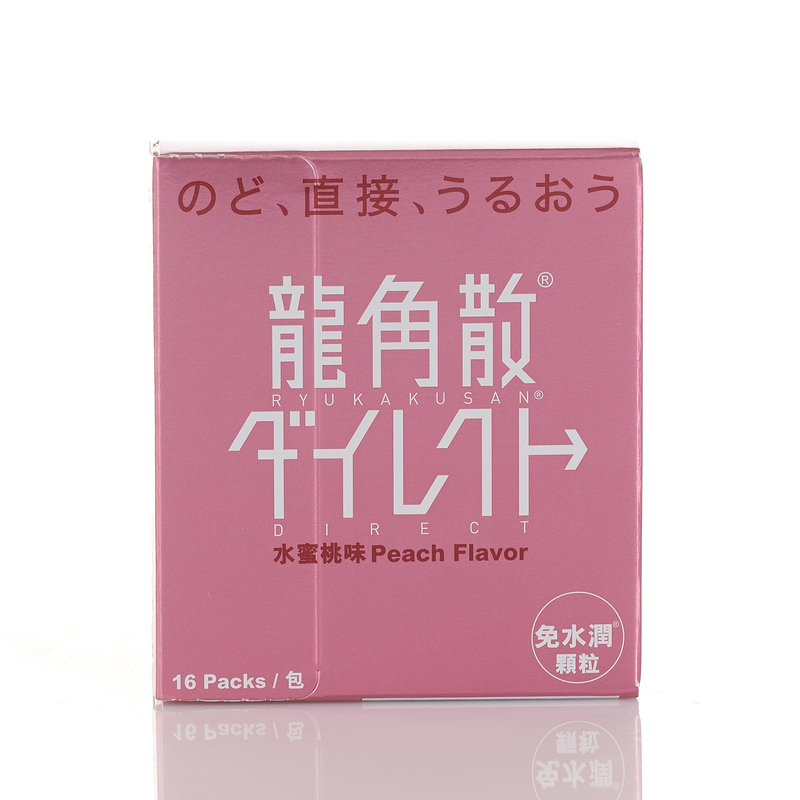 Ryukakusan Direct Stick Peach 16pcs
