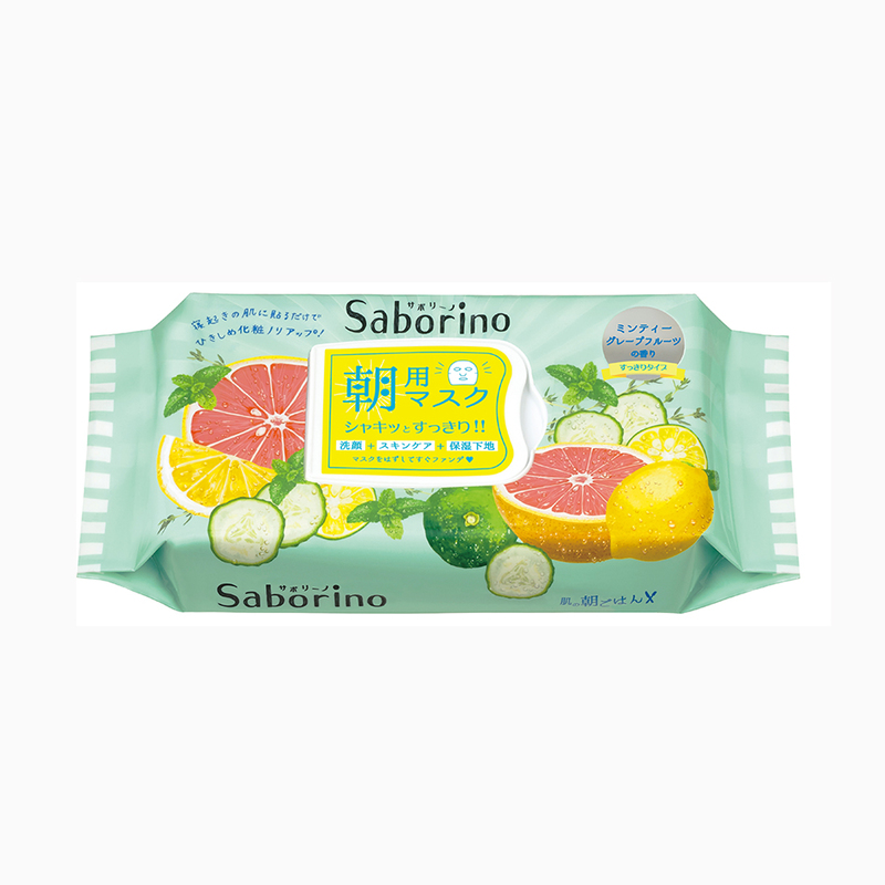 Saborino Minty Fresh Facial Mask 32pcs