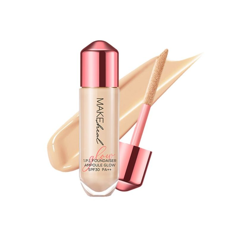 MakeHeal 1PL Ampoule Glow Free Puff BE0103 N Clarity 28g