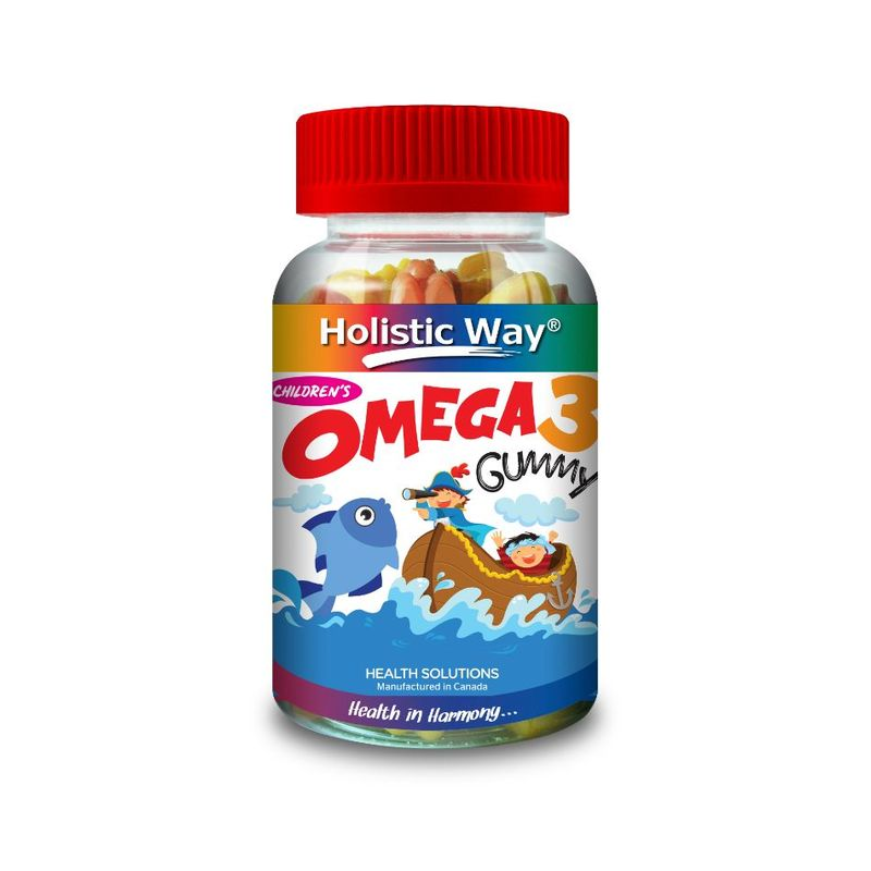 Holistic Way Children'S Omega 3 Fish Gummy 90s