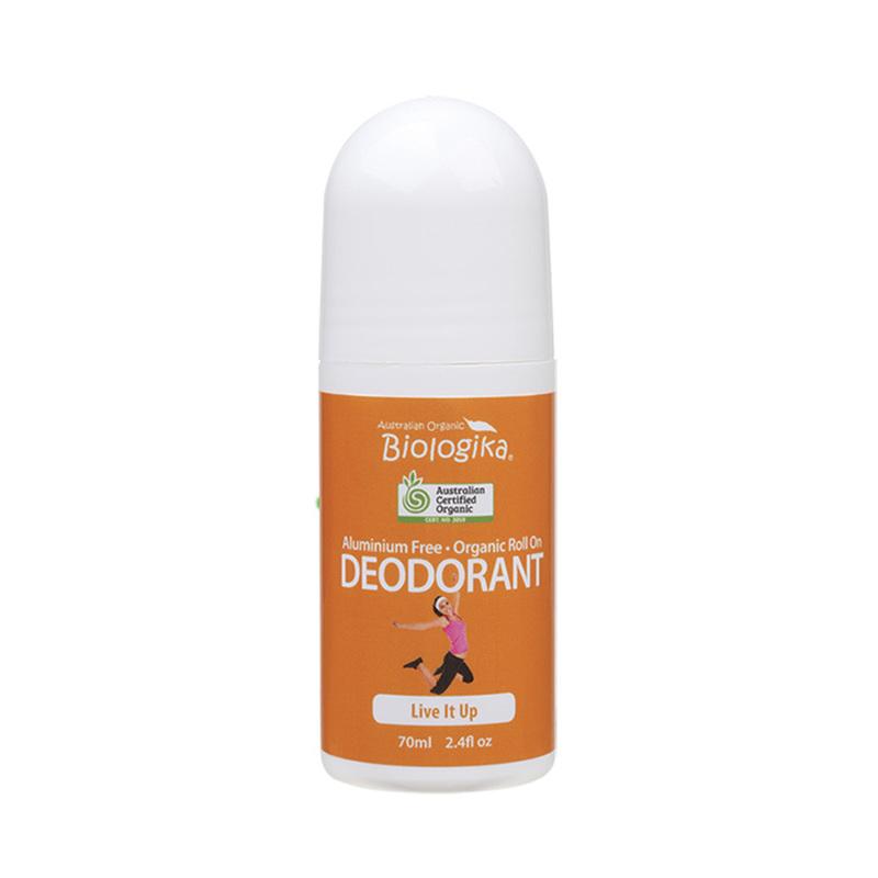 Biologika Roll-On Deodorant Live It Up, 70ml