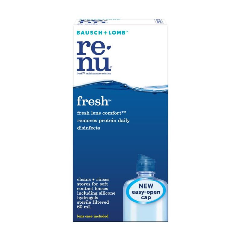 Bausch & Lomb Renu Fresh Multi-Purpose Solution, 60ml