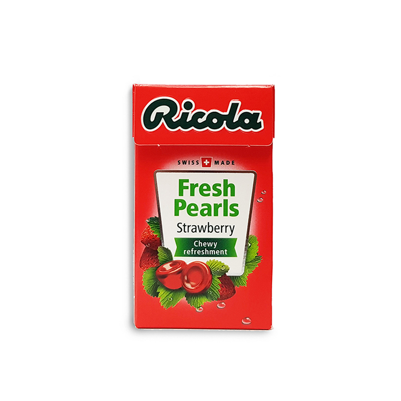 Ricola Fresh Pearls Strawberry, 25g
