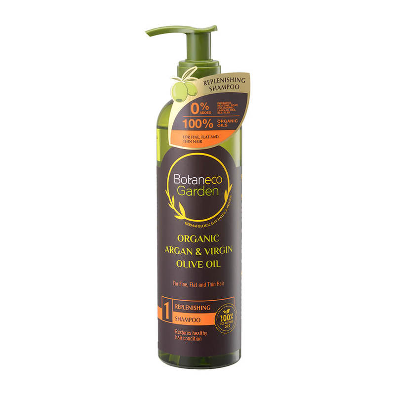 Botaneco Garden Argan and Virgin Olive Oil Shampoo Replenishing, 290ml