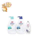 Dove Sensitive Skin 1000ml+ Beauty Nourishing 1000mL+ Gift (Lavender 200g)