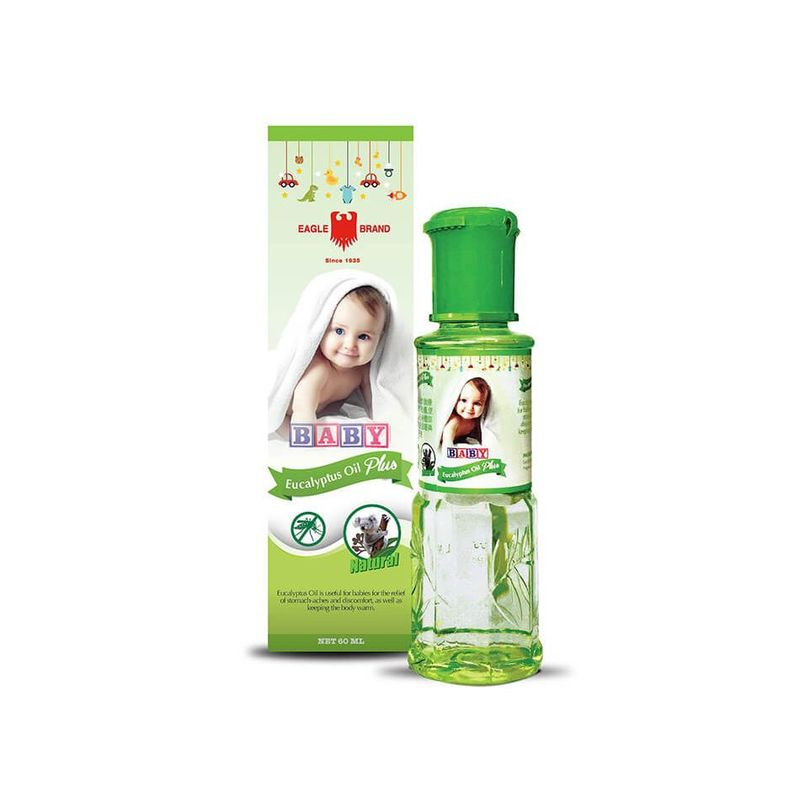 Eagle Baby Eucalyptus Oil Plus, 60ml