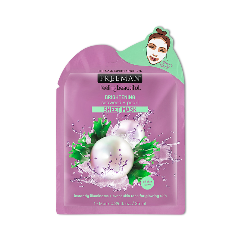 Freeman Brightening Seaweed + Pearl Sheet Mask
