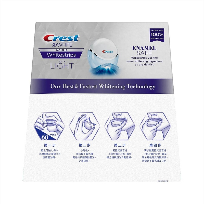 Crest 3DW Strip With Bluelight 20pcs