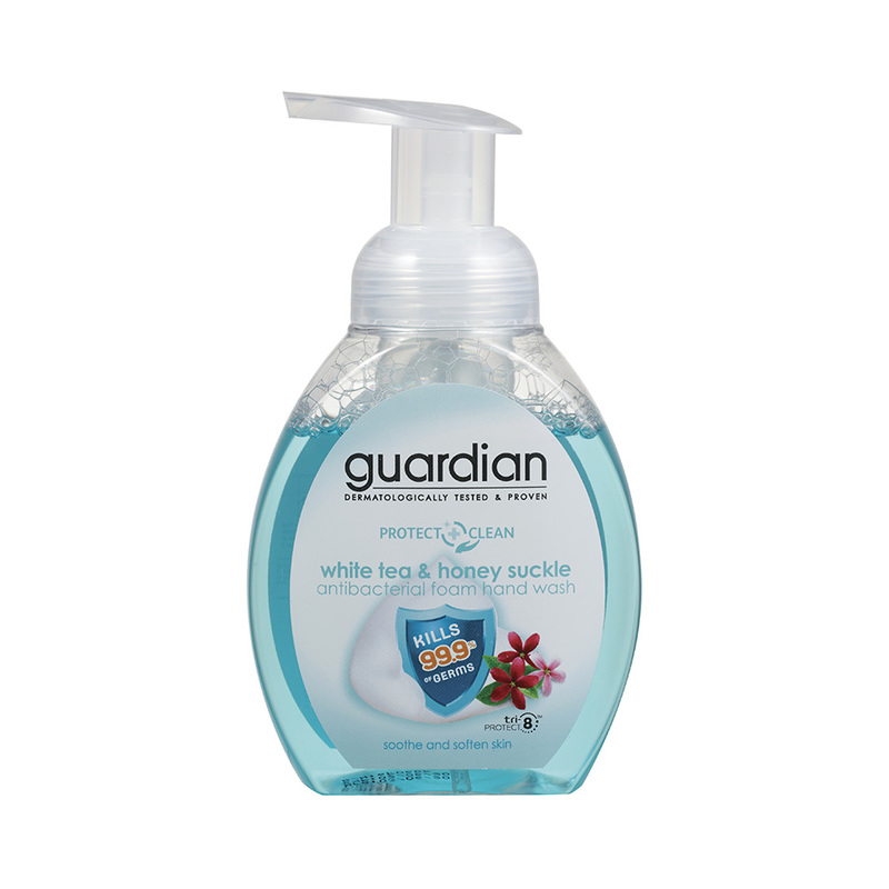 Guardian Antibacterial Foam Handwash White Tea & Honey Suckle, 250ml