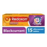 Redoxon Triple Action Efferverscent Blackcurrant, 15 tablets