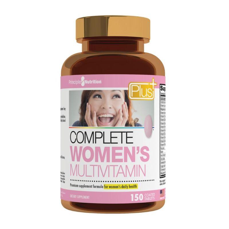 Principle Nutrition PNPlus Complete Women's Multivitamins, 150 tablets