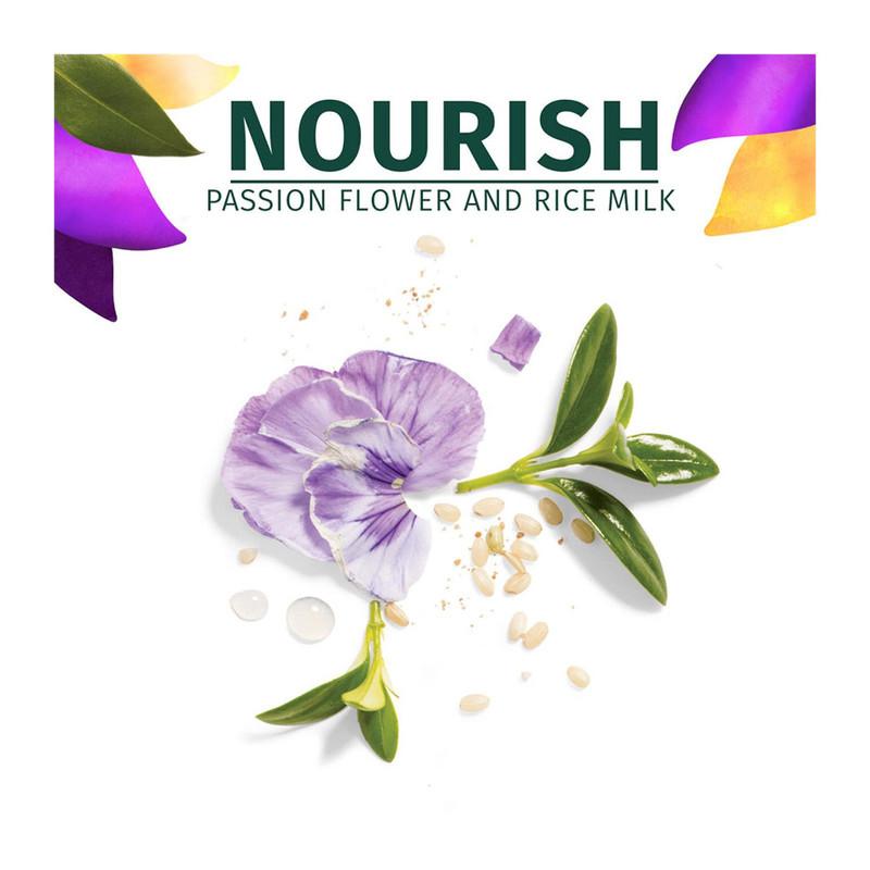 Herbal Essences NOURISH Passion Flower & Rice Milk Shampoo, 400ml