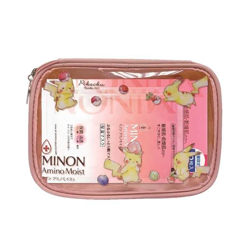 Minon Essential Mask Pokemon 12+3pcs
