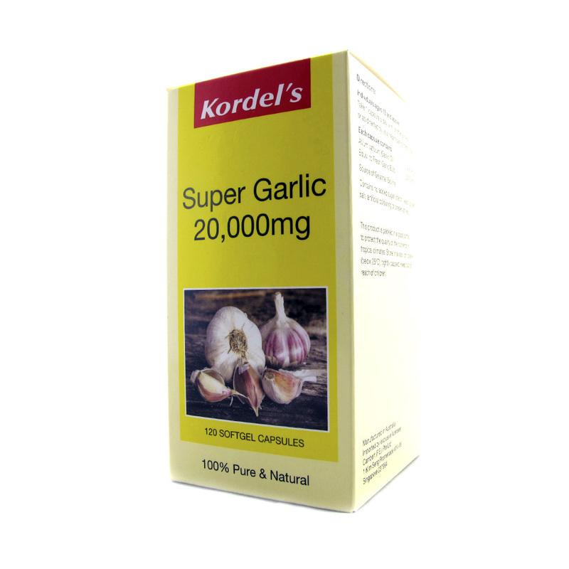 Kordel's Super Garlic 20000mg Concentrate, 120 capsules