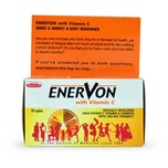 Enervon Vitamin B Complex with Vitamin C, 30pcs